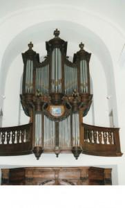 gerestaureerde orgel