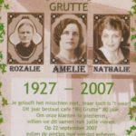 cafe 'bij Grutte' - 80 jaar