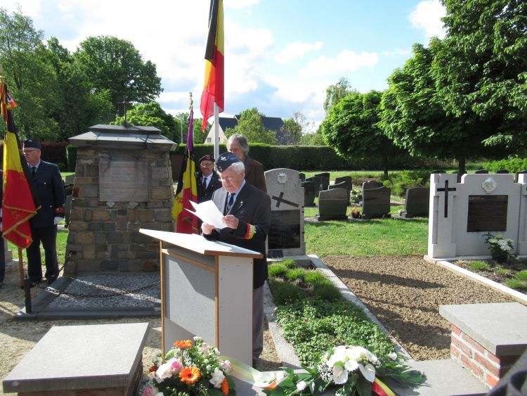 Ereperk slachtoffers - toespraak François Cruysberghs