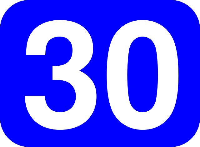30jarige