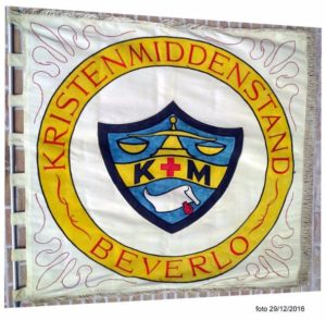 Oude vlag Middenstandsvereniging Beverlo